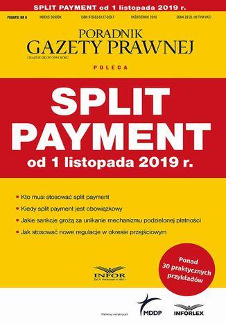 Okładka książki Split payment od 1 listopada 2019 r