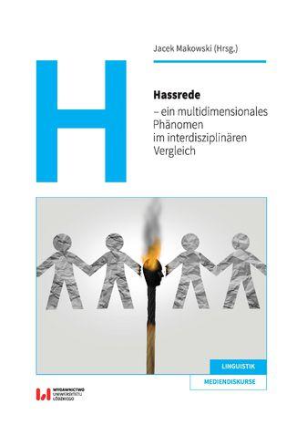 Okładka książki Hassrede - ein multidimensionales Phänomen im interdisziplinären Vergleich