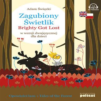 Okładka książki/ebooka Zagubiony Świetlik/ Brightly Got Lost w wersji dwujęzycznej dla dzieci