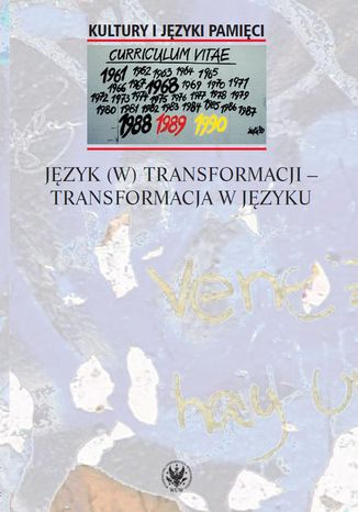 Okładka książki/ebooka Język (w) transformacji - transformacja w języku