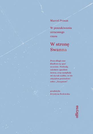 Okładka książki/ebooka W stronę Swanna