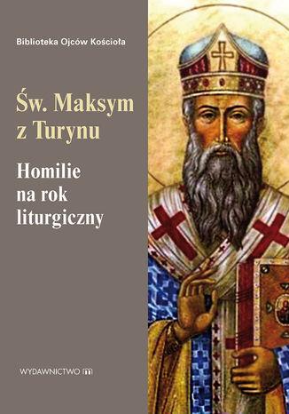Okładka książki Homilie na rok liturgiczny