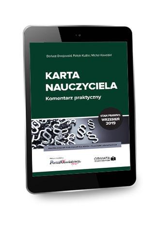 Okładka książki/ebooka Karta Nauczyciela. Komentarz praktyczny Wrzesień 2019