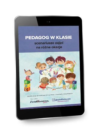 Okładka książki Pedagog w klasie - scenariusze zajęć na różne okazje