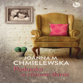 Okładka książki/ebooka Poduszka w różowe słonie