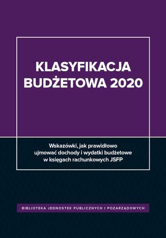 Okładka książki  Klasyfikacja budżetowa 2020