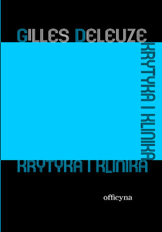 Okładka książki/ebooka Krytyka i klinika