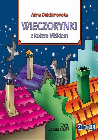 Okładka książki Wieczorynki z kotem Miśkiem
