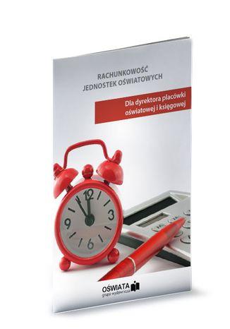 Okładka książki Rachunkowość jednostek oświatowych