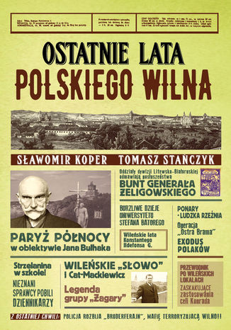 Okładka książki/ebooka Ostatnie lata polskiego Wilna