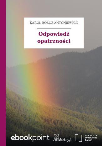 Okładka książki/ebooka Odpowiedź opatrzności