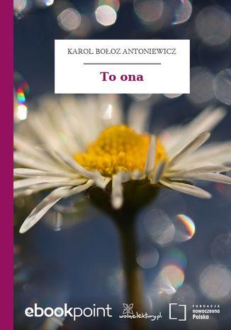Okładka książki/ebooka To ona