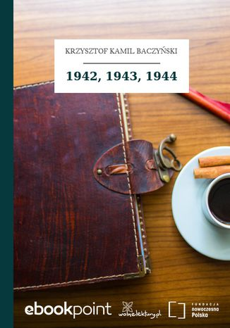 Okładka książki 1942, 1943, 1944