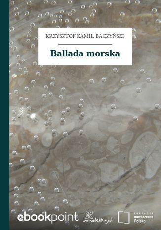 Okładka książki/ebooka Ballada morska