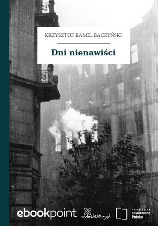 Okładka książki/ebooka Dni nienawiści