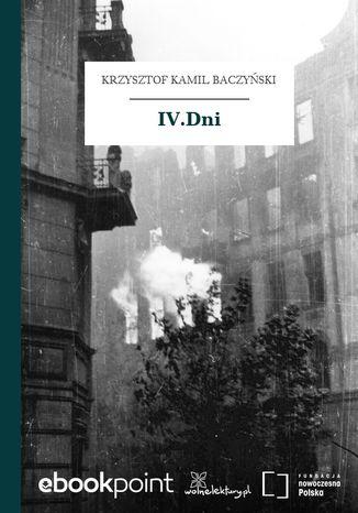 Okładka książki IV.Dni