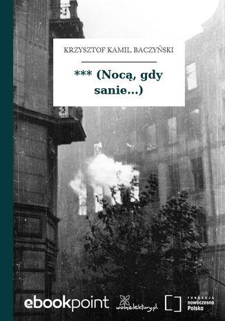 Okładka książki/ebooka *** (Nocą, gdy sanie...)