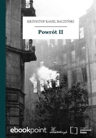 Okładka książki/ebooka Powrót II