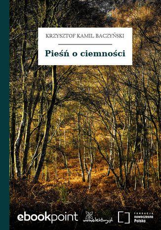 Okładka książki/ebooka Pieśń o ciemności