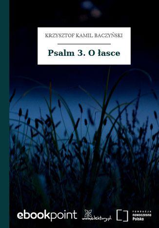 Okładka książki Psalm 3. O łasce