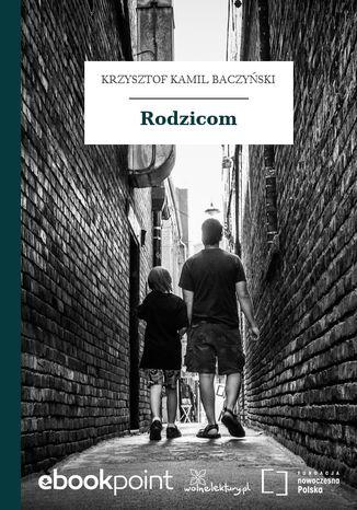 Okładka książki/ebooka Rodzicom