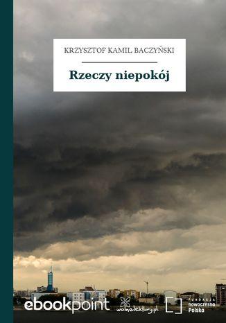 Okładka książki/ebooka Rzeczy niepokój