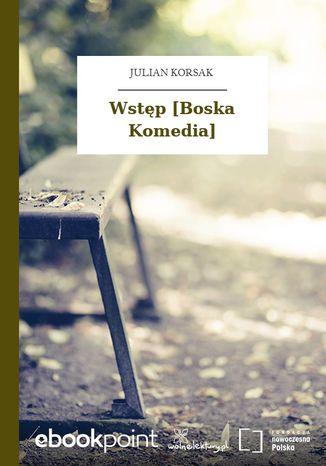 Okładka książki/ebooka Wstęp [Boska Komedia]