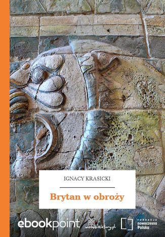 Okładka książki Brytan w obroży