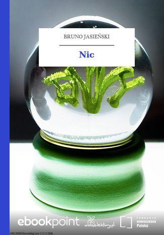 Okładka książki Nic