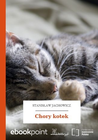 Okładka książki/ebooka Chory kotek
