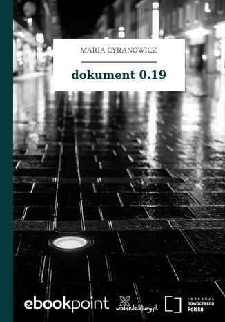 Okładka książki dokument 0.19