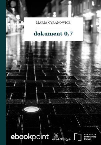 Okładka książki dokument 0.7