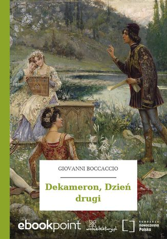 Okładka książki Dekameron, Dzień drugi
