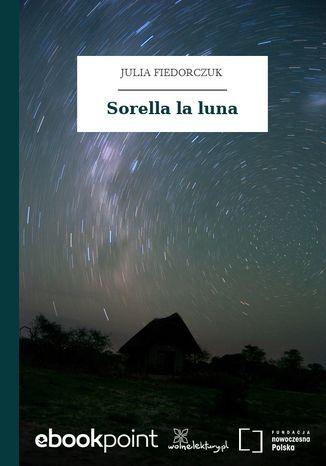 Okładka książki Sorella la luna