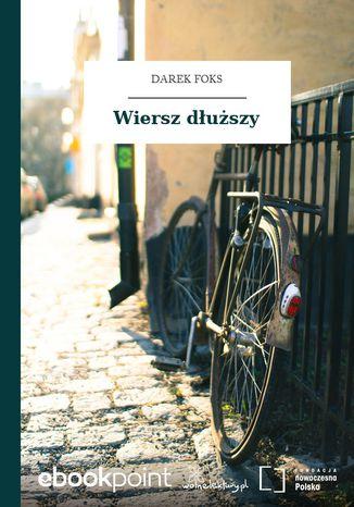 Okładka książki/ebooka Wiersz dłuższy