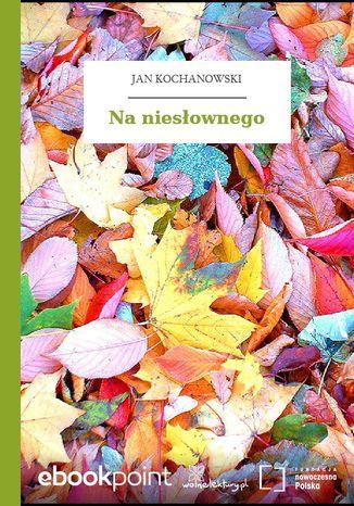 Okładka książki/ebooka Na niesłownego