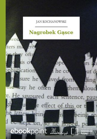 Okładka książki Nagrobek Gąsce