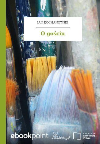 Okładka książki/ebooka O gościu