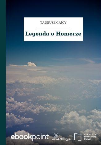 Okładka książki Legenda o Homerze