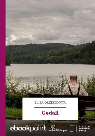 Okładka książki Gedali