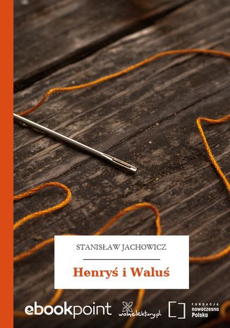 Okładka książki Henryś i Waluś