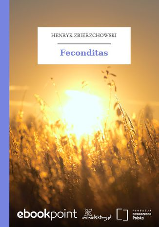 Okładka książki Feconditas