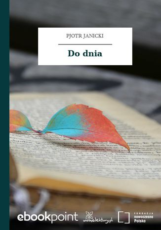Okładka książki/ebooka Do dnia