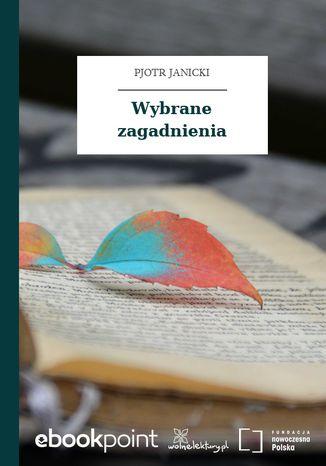 Okładka książki/ebooka Wybrane zagadnienia