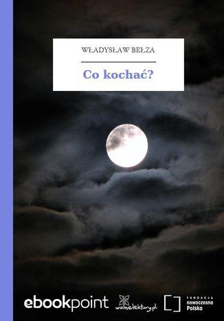 Okładka książki/ebooka Co kochać?