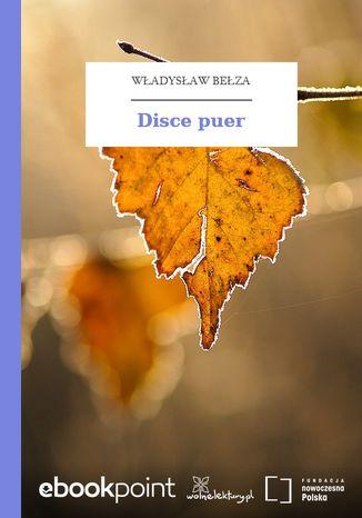 Okładka książki Disce puer