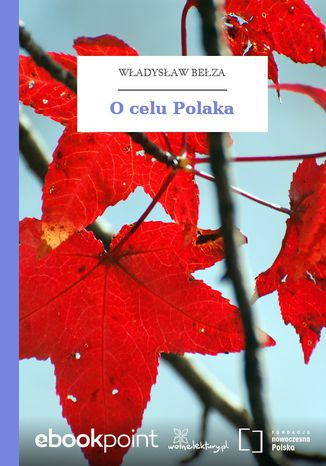 Okładka książki/ebooka O celu Polaka