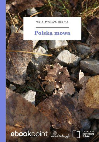 Okładka książki Polska mowa