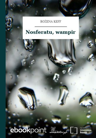 Okładka książki/ebooka Nosferatu, wampir
