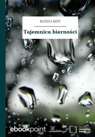 Okładka książki Tajemnica bierności